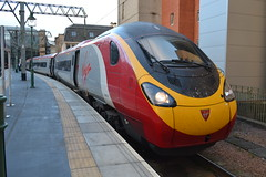 Virgin Trains Pendolino 390141 City of Chester (Will Swain) Tags: city uk travel england west station train coast scotland october britain glasgow centre main capital north transport central rail railway trains class line virgin chester vehicles wc vehicle northern railways vt 22nd 390 mainline 2015 pendolino 390141