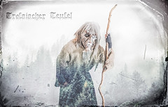 Trofaiacher Teufel (alexanderkoch) Tags: photoshop shoot mask devil maske krampus composing grampus stberl trofaiach