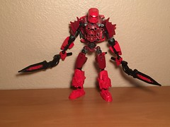 Blaze Young Toa of Fire (xFlashDx) Tags: toy lego action technic figure bionicle 2015