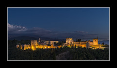Granada, Alhambra by night (Joseph Molinari) Tags: night noche spain nikon alhambra granada alambra d610