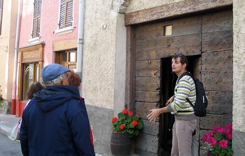 Aussois, architecture traditionnelle, eductour septembre 2011, Savoie Mont-Blanc Tourisme-groupe