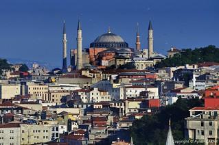 Hagia Sophia Istanbul Seven Hills