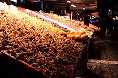 (Giramund) Tags: food mushroom vegetables night market sweden stockholm stall