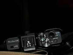 Sleeping G16 (Boneil Photography) Tags: canon pentax flash powershot panasonic m42 f56 50mmf14 screwmount supertakumar m43 g16 microfourthirds boneilphotography dmcg10 brendanoneil
