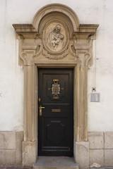 Krakov, kostel sv. Barbory (9) (ladabar) Tags: portal kraków cracow cracovia krakau krakov portál