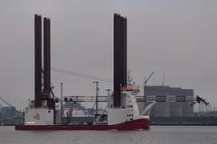 Wind Server (das boot 160) Tags: sea port docks river boats boat dock ship ships maritime mersey windfarm docking rivermersey merseyshipping windserver