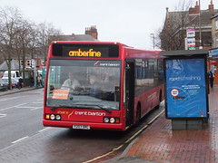 trent barton 257 Heanor (Guy Arab UF) Tags: bus buses derbyshire trent barton excel 257 optare heanor wellglade l1180 wellgladegroup y257drc