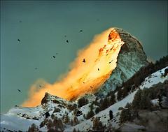 Waking up (Katarina 2353) Tags: landscape switzerland zermatt matterhorn