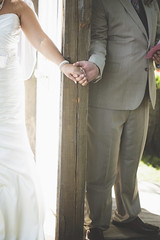 wedding. (mAnd3rS1) Tags: wedding marriage love cake happy day celebration life couple bride groom maid honor bridesmaids groomsmen best man sunny kids family september wisconsin beaver dam stage wood blue navy children field nature sun bouquet flowers suit tie dress pearls necklace hair aisle reception ceremony