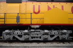 Four-Axle Truck (CrispyBassist) Tags: train railroad railway stlouis museumoftransportation unionpacific up centennial