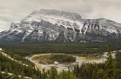 Rundle (gwendolyn.allsop) Tags: mt rundle banff hoodoos view landscape river canada