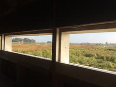 2016-10 Herfstvakantie Schiermonnikoog wandeling Alde Feanen (2) (Evert Kuiken) Tags: aldefeanen wandeling jandurkspolder fgelpaad uitzicht view vogelhut birdcabin