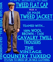 the Country Tuxedo wear tweed 7 (Ban Long Line Ocean Fishing) Tags: countrytuxedo tweed tweedjacketphotos tweeds tweedjacket tie twill texture tweedcoat trousers classic clothing canon coat country christchurch cavalrytwill cavalry nz newzealand napier nelson wellington blazer bloke guy cap clothes tweedcap flatcap scottish scotland uk british britain english england mens man mensfashion menswear hastings hamilton harris text houndstoothtweedjacket houndstooth harristweeds candid countrytweeds cavalrytwilltrousers coatjacketjacketcoats color retro oldschool old older