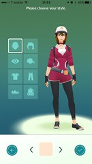 Pokémon GO (UX Examples (Mobile Games)) Tags: 2016 pokémongo niantic personalization avatar