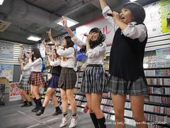 "HOT HEAT HEAT GIRLS 1st single ""JUMP"" リリースイベントミニライブ (制服回)"