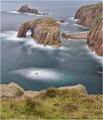 Ocean granite ………….. (Alan Burkwood) Tags: cornwall landsend granite scenery