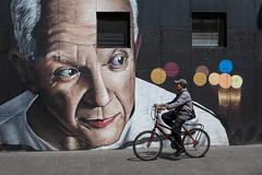 Street Art Cycling, Mexico City (Geraint Rowland Photography) Tags: graffiti art streetart paint painting mural artistic mexico mexicanstreetart travelinmexico cycling geraintrowlandphotography candid madart streetphotogrpahy mexicocity zocalo eyes travel