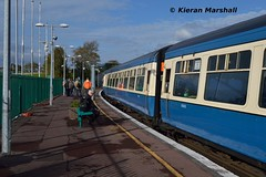 Cravens at Ennis, 22/10/16 (hurricanemk1c) Tags: rpsi westernexplorer 0955connollylimerick railways railway train trains irish rail irishrail iarnrd ireann iarnrdireann 2016 railwaypreservationsocietyofireland craven ennis