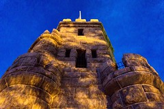 Prospect Hill Tower At Dusk ((Jessica)) Tags: boston massachusetts bluehour newengland prospecthillmonument prospecthillpark pw dusk prospecthill prospecthilltower somerville