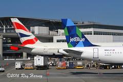 San Francisco International Airport (320-ROC) Tags: jetblueairways jetblue britishairways speedbird n943jt gstbc airbusa321 airbusa321200 airbusa321231 airbus a321 a321200 a321231 boeing777 boeing777300 boeing777300er boeing77736ner boeing 777 777300 777300er 77736ner b77w ksfo sfo sanfranciscointernationalairport sanfranciscoairport sanfrancisco