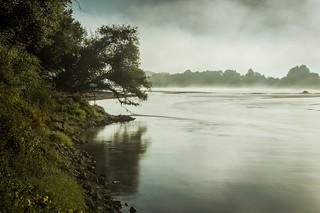 Les eaux calmes de la Loire