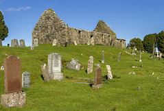 Cill Chriosd (Kev Gregory (General)) Tags: cill chriosd christs church kilchrist ruined former parish strathaird isle skye scotland constructed 16th century medieval 1840 relocated broadford b8083 torrin elgol road sheep kev gregory grave graveyard wool canon 7d