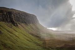 arriving shower (KClarkPhotography) Tags: scotland travel kclarkphotography mull isle approaching rain shower dramatic landscape scottish
