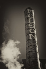 Molson Brewery (A Great Capture) Tags: chimney smokestack brick brewery outdoor outdoors blackandwhite noiretblanc montreal molson factory old agreatcapture agc wwwagreatcapturecom adjm canada canadian photographer northamerica street photography streetphotography