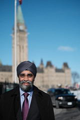 Our Minister of National Defence (DHaug) Tags: harjitsinghsajjan honourable liberal verteran ministerofdefence mp memberofparliament ottawa parliamenthill peacetower portrait government sooc classicchrome xf35mmf14r xt2 fujifilm veteran