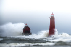untitled (paulh192) Tags: select lakemichigan storm highwinds gale greatlakes michigan grandhaven wavesfog snow autumn nikon sigma power force nature