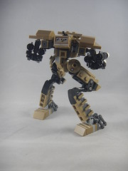 Trident back (donuts_ftw) Tags: lego mecha mech moc robot military missile metalgear