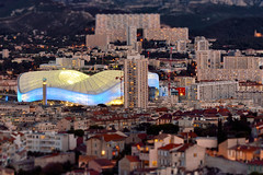 Early Evening in Marseille (PHOKUZ.NET) Tags: city cityscape urban agglomeration evening tiltshift marseille france europe