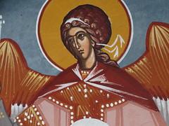 Detail wall (Miranda Ruiter) Tags: iconography detail church religion painting art icons orthodox