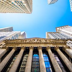 Wall Street (Thomas Hawk) Tags: manhattan nyc nyse newyork newyorkcity newyorkstockexchange usa unitedstates unitedstatesofamerica wallstreet architecture fav10
