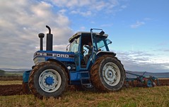 (Zak355) Tags: ploughingmatch rothesay bute isleofbute tractors old vintage scotland scottish ford tw15 tractor