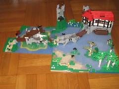 PCS_335 (Zeï'Cygaïn) Tags: lego puzzling pcs classic castle scapes lakepath seascape