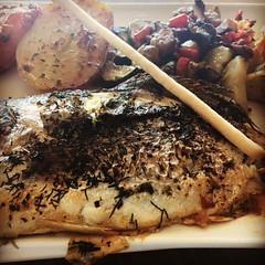 Fish at restaurant (jmlpyt) Tags: instagramapp square squareformat iphoneography uploaded:by=instagram hefe cotedazurnow cotedazur cotedazurtourisme tourisme tourismepaca paca var provence provencealpescotedazur fod fish restaurant nourriture