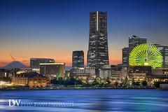 Yokohama Cityscape (Suzuki san) Tags: yokohama japan cityscape longexposure night