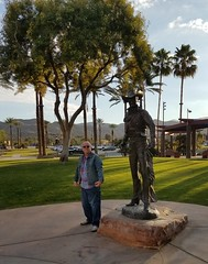 December 01, 2016 (33) (gaymay) Tags: california desert gay love riversidecounty coachellavalley statue cathedralcitytowncenter cathedralcity artclimbers