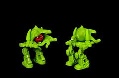 Alien Ma.cKa (Karf Oohlu) Tags: lego moc alien walker biped mecha