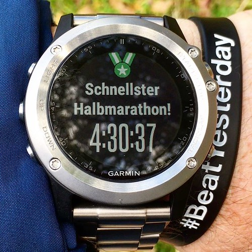 YEAH! Geschafft! 😍😃🏃‍♀️  #Halbmarathon #halbmarathon2016  #Hiking #Outdoor #Garmin #Oregon750t #fēnix3 #BeatYesterday #running66