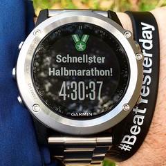 YEAH! Geschafft! 😍😃🏃♀️  #Halbmarathon #halbmarathon2016  #Hiking #Outdoor #Garmin #Oregon750t #fēnix3 #BeatYesterday #running66
