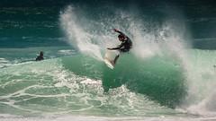 Surfing in the South (AndreDiener) Tags: surfing atlantic ocean sea surfer wind