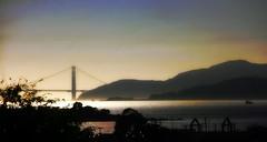 Just another November day. (TJ Gehling) Tags: sanfranciscobay goldengatebridge angelisland marinheadlands elcerritoplazastation bart elcerrito