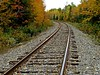 More colour around the bend (clickclique) Tags: fall tracks gravel rails ties colour color leaves trees leadin outdoors outside