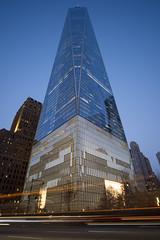 Freedom Tower Standing Tall @ Dusk (Daniel Portalatin Photography) Tags: danielportalatinphotography newyorkcity freedomtower worldtradecenter dusk