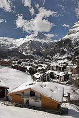 Zermatt and The Matterhorn at winter time . No. 4109. (Izakigur) Tags: matterhorn cantonduvalais schweiz izakigur izakiguralps alps ch nikon suisse svizzera swiss europa europe feel flickr kleinmatterhorn wallis valais gornergrat my switzerland zermatt myswitzerland ourswitzerland snow train nikkor free