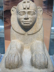 UK - London - West End - British Museum - Granite sphinx of Taharqo (JulesFoto) Tags: uk england london westend britishmuseum ancientegypt sphinx