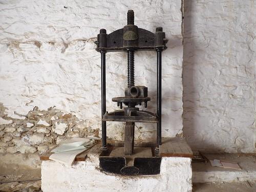 Une ancienne presse