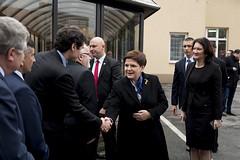 Wizyta premier Beaty Szydo w Leajsku (Kancelaria Premiera) Tags: beata szydo dobraszkoa leajsk